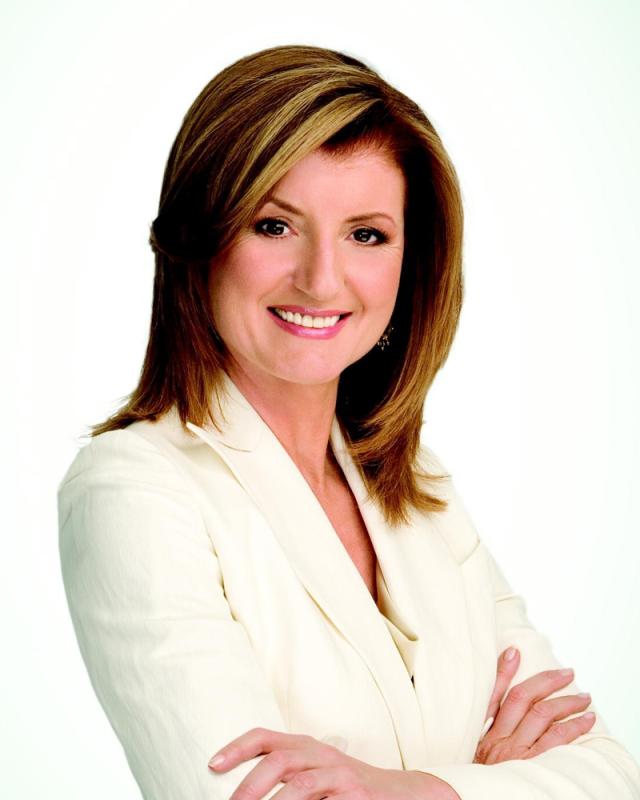 Arianna Huffington - kvinnen bak Huffingtonpost.com Foto lånt fra Texas Observer